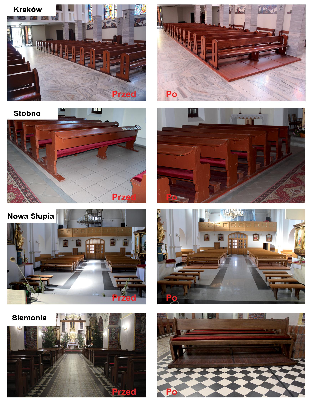Kościoły realizacje